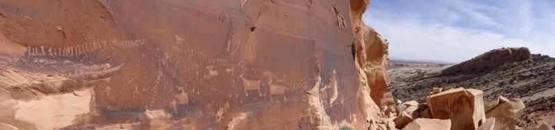 Procession Panel - Cedar Mesa - Utah