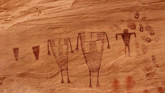 Breech Birth Panel - Sheiks Canyon - Cedar Mesa - Utah