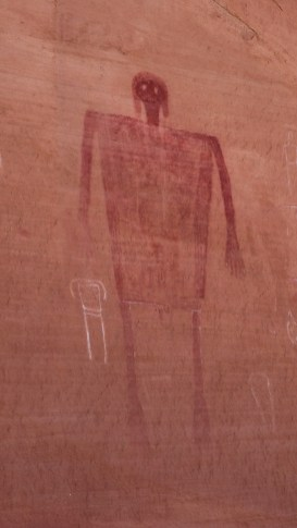 Big Man Panel - Grand Gulch - Cedar Mesa - Utah