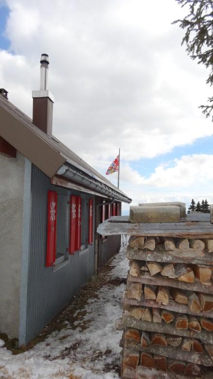 Cabane du Cunay - Club Alpin Suisse - Bière - Vaud - Suisse