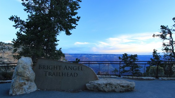 Bright Angel Trailhead - Grand Canyon National Park - Arizona