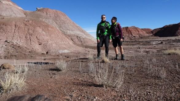 Painted Desert Wilderness Area - Petrified Forest National Park - Arizona