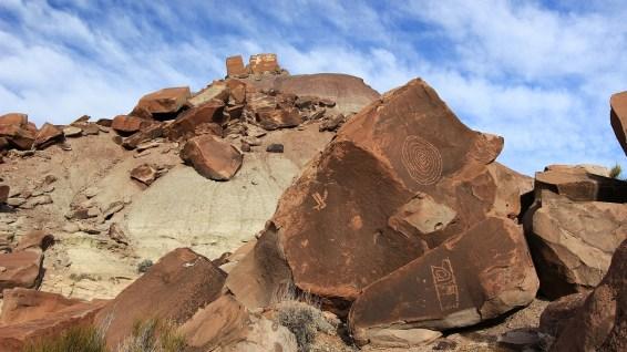 Martha's Butte - Petrified Forest National Park - Arizona
