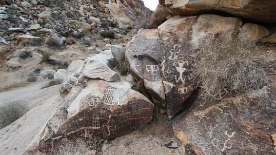 Grapevine Canyon - Clark County - Nevada