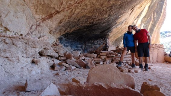 Perfect Kiva - First Fork of Slickhorn Canyon - Cedar Mesa - Utah