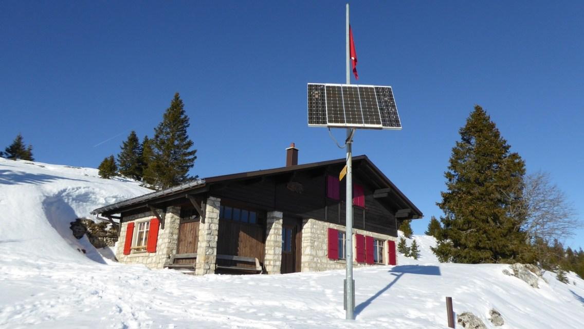 Cabane du Cunay - Ski-Club Le Brassus - Bière - Vaud - Suisse