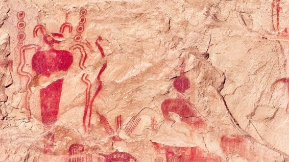 Sego Canyon Rock Art - Thompson - Utah - États-Unis