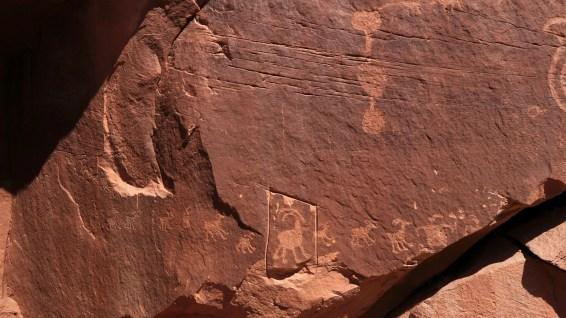 Near the Big Horn Sheep Panel - Moab - Utah