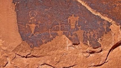 Golf Course Rock Art Site - Moab - Utah