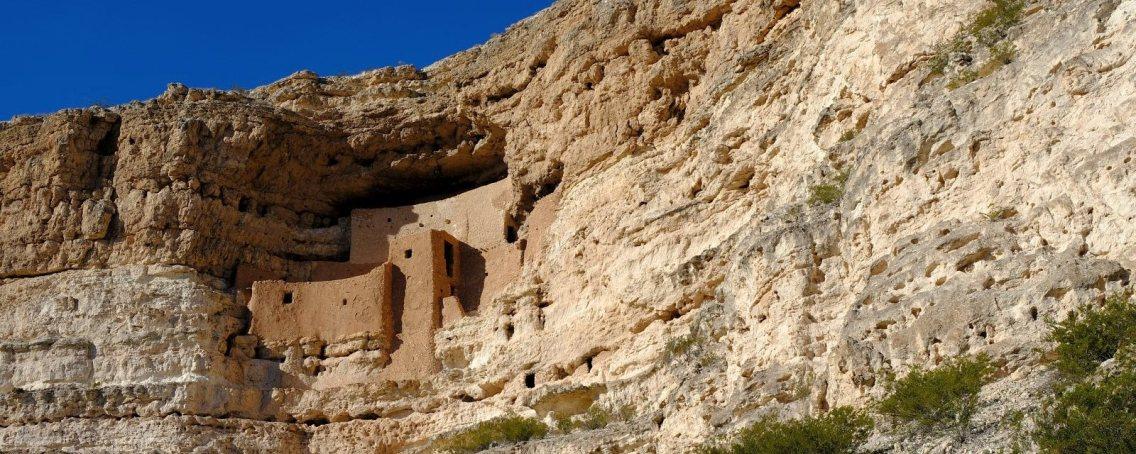 Montezuma Castle National Monument, près de Sedona, dans l'Arizona.