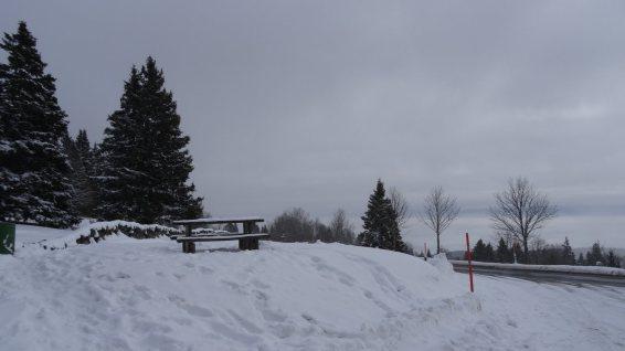 Parking du point de vue - Gimel - Vaud - Suisse