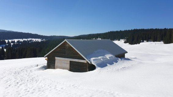 Couvert de la Sèche de Gimel - Le Chenit - Vaud - Suisse