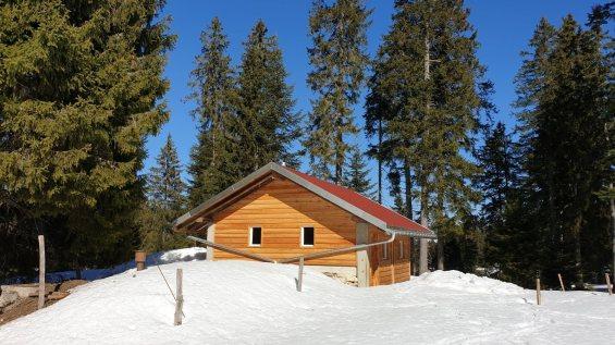 Refuge forestier des Echadex - Marchissy - Vaud - Suisse