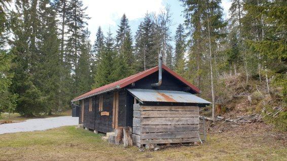 Refuge La Bûcheronne - Arzier-Le Muids - Vaud - Suisse