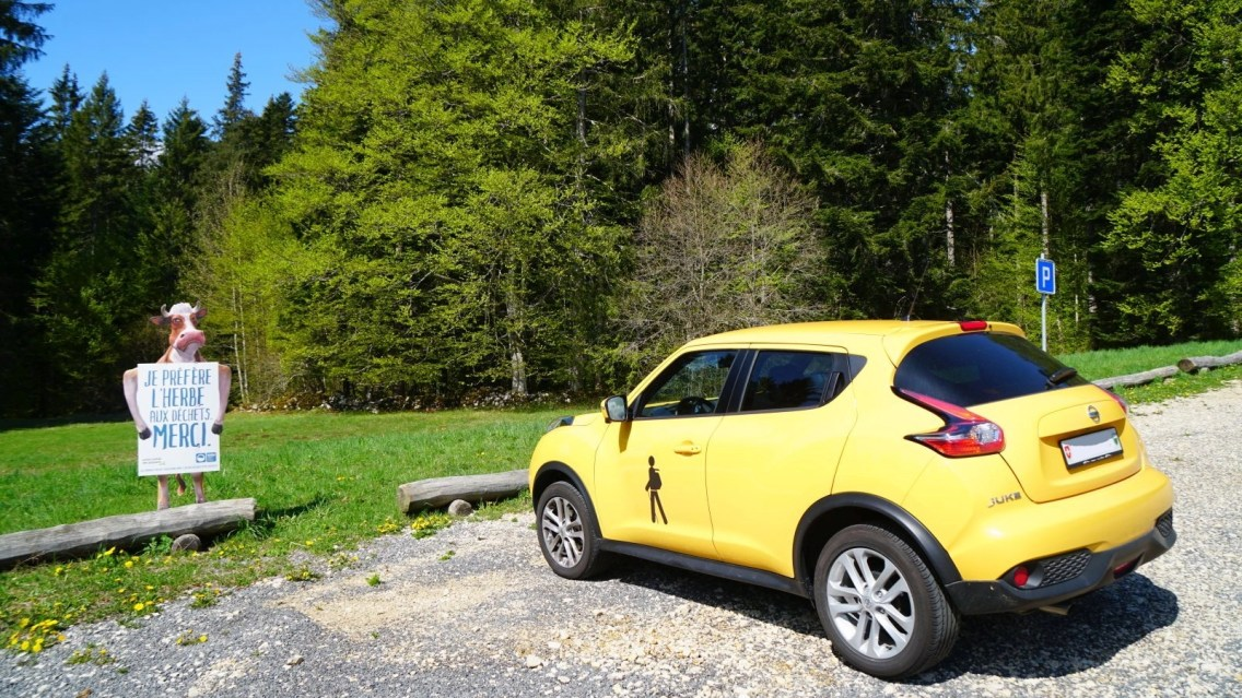 Parking du Creux des Abériaux - Arzier-Le Muids - Vaud - Suisse