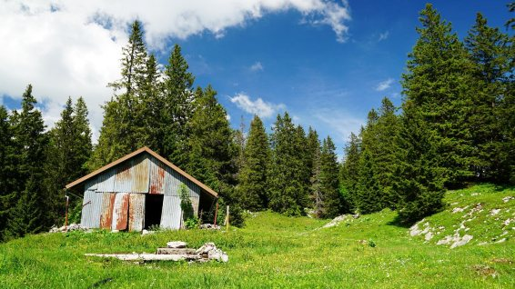 Couvert du Sorcier - Le Chenit - Vaud - Suisse