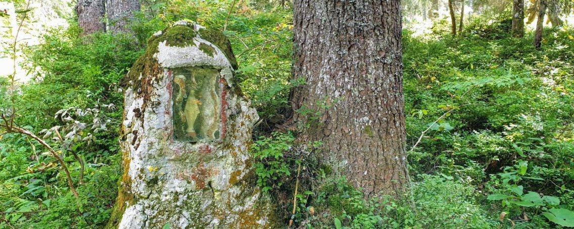 La vierge du Sentier des Begnines.