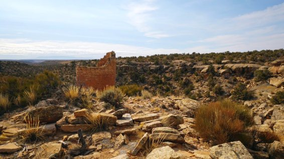 Hackberry and Horseshoe Group - Hovenweep NM - États-Unis