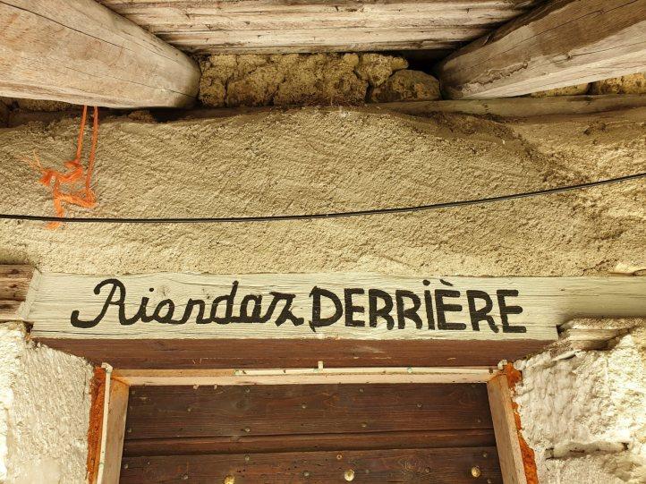 Rionde Dessus - Bassins - Vaud - Suisse