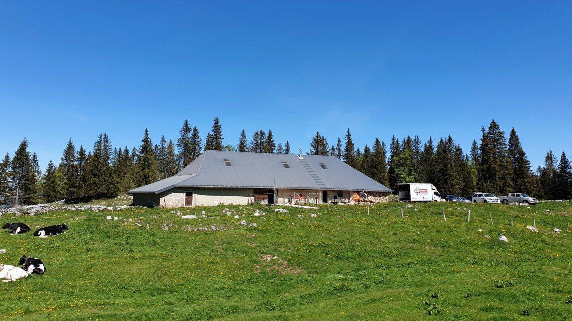 Pré d'Etoy - L'Abbaye - Vaud - Suisse