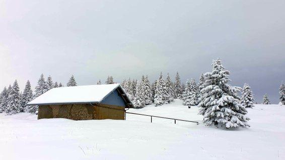 Couvert des Monts de Bière Derrière - Le Chenit - Vaud - Suisse