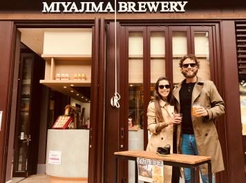 Miyajima brewery in Hatsukaichi-shi, Hiroshima Prefecture