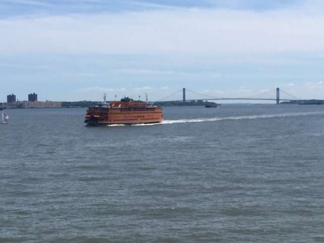 The iconic Staten Island Ferry