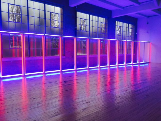 Dan Flavin's Untitled Work was impressive - Beacon, NY Day Trip for World Class Contemporary Art - Two Traveling Texans