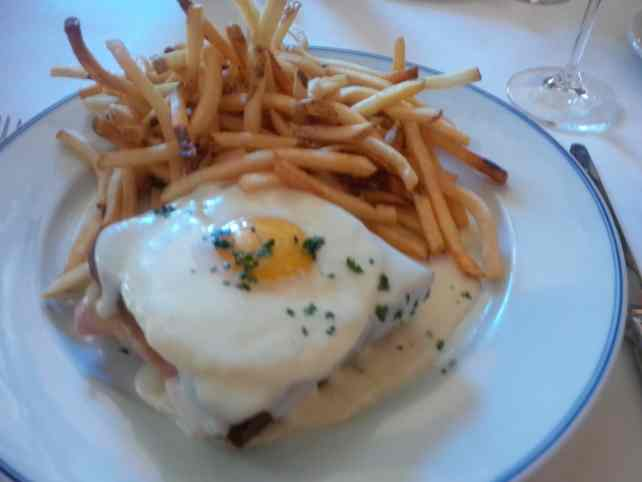 "Amazing croque madame at Bouchon - ""The Bellagio Las Vegas in July - Hot Hot Hot!"" - Two Traveling Texans"