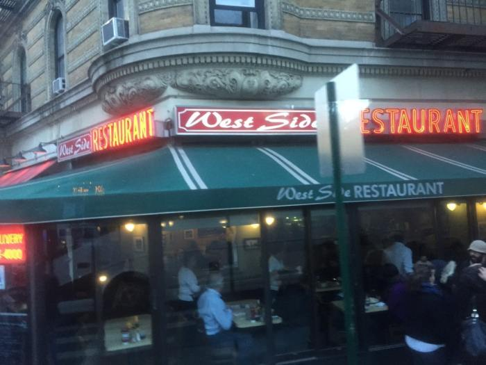 The West Side restaurant from the movie Little Manhattan
