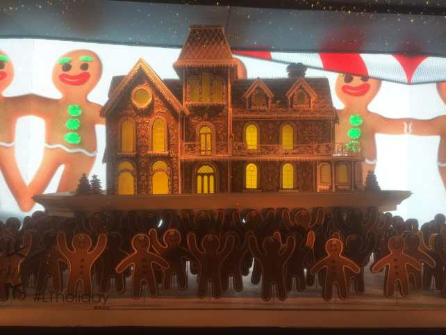 The Lord and Taylor added video to their Holiday Windows!