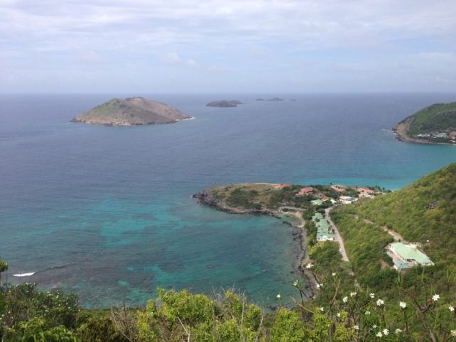 "Another great view from our drive - ""St. Barts for the Day"" - Two Traveling Texans"