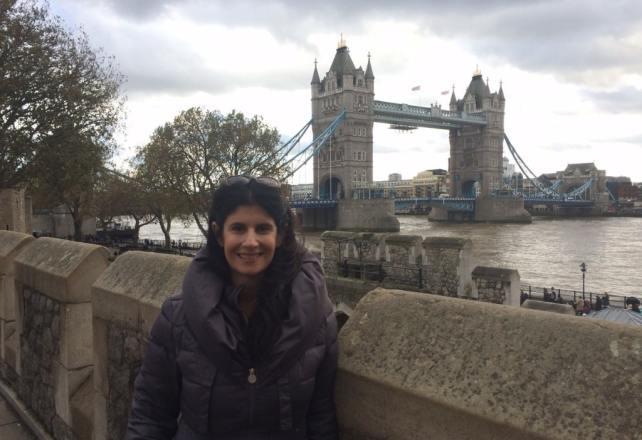 Anisa and the Tower Bridge