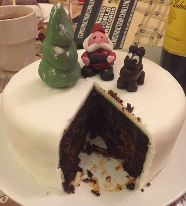 "Christmas Cake! - ""Six British Foods We Need in the US"" - Two Traveling Texans"