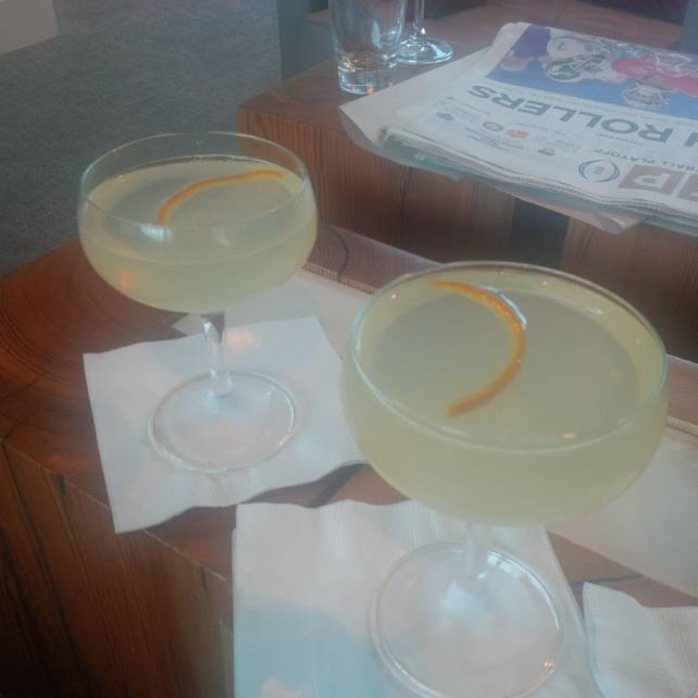 "Cocktails to start the New Year off right! - ""The Centurion Lounge - Making the Best of a Long Layover"" - Two Traveling Texans"