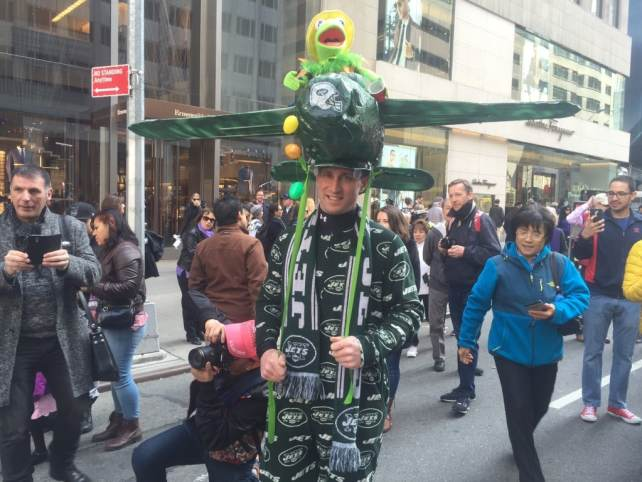 J-E-T-S Jets - You never know what you will see at the Easter Parade