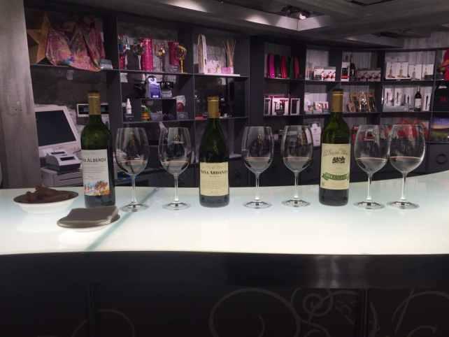 Our Rioja tasting at La Rioja Alta.