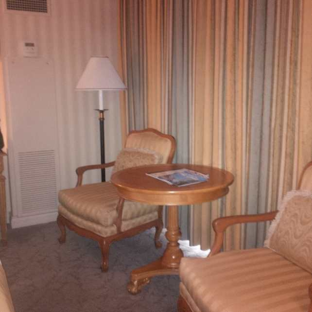"""The room at Paris was a bit dated but clean. - """"Five Tips to Help You Plan A Trip to Vegas"""" - Two Traveling Texans"""