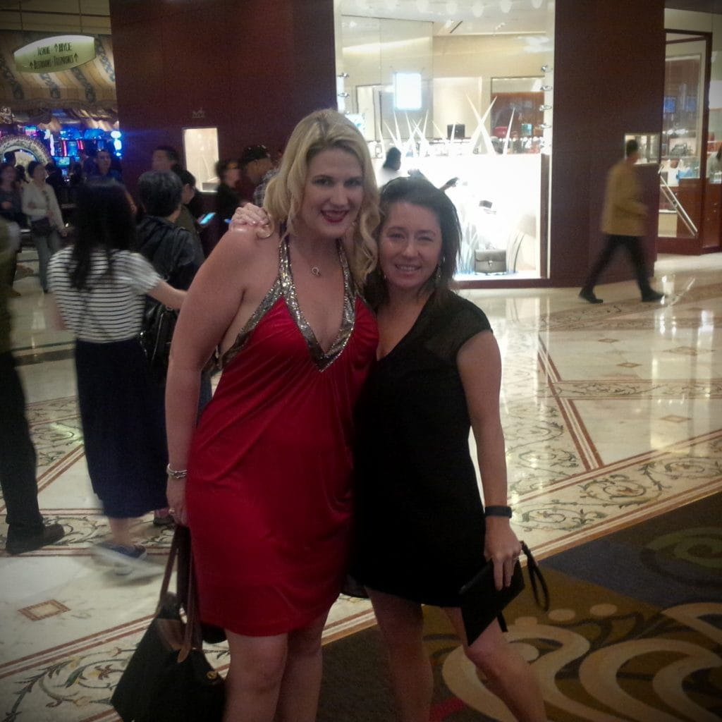 """All ready for a night out in Vegas - """"Five Tips to Help You Plan A Trip to Vegas"""" - Two Traveling Texans"""