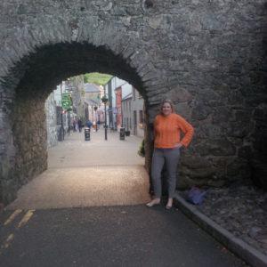 Katherine in Carlingford, Ireland