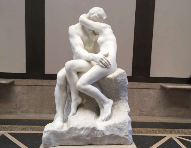"The Kiss is one of my favorite sculptures by Rodin - ""Rodin Around the World"" - Two Traveling Texans"