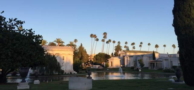 Movie Night at the Hollywood Forever Cemetery
