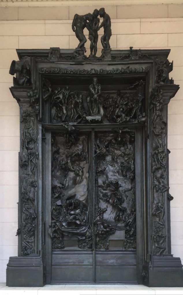 "The Gates of Hell by Rodin is quite impressive, especially if you look at all the detail that went into it. - ""Rodin Around the World"" - Two Traveling Texans"