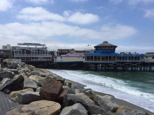 The Redondo Beach Pier has lots of great food options.
