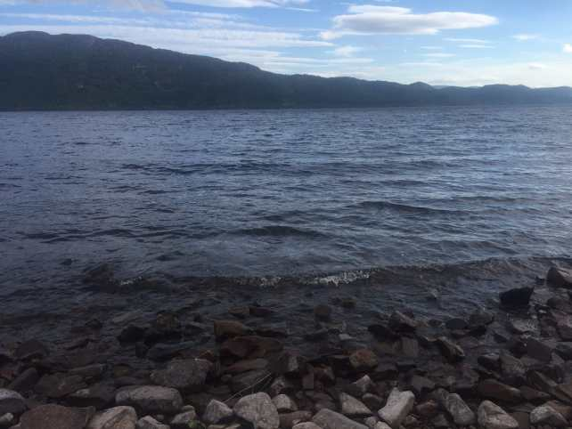 """The shores of Loch Ness - """"Loch Ness: Searching for Nessie"""" - Two Traveling Texans"""