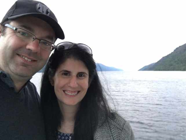"""Selfie with Russell on our cruise - """"Loch Ness: Searching for Nessie"""" - Two Traveling Texans"""