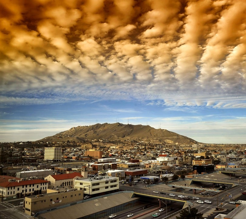 """Gorgeous skies over El Paso - """"Texas Trippin': Driving Through Texas (Guest Post)"""" - Two Traveling Texans"""