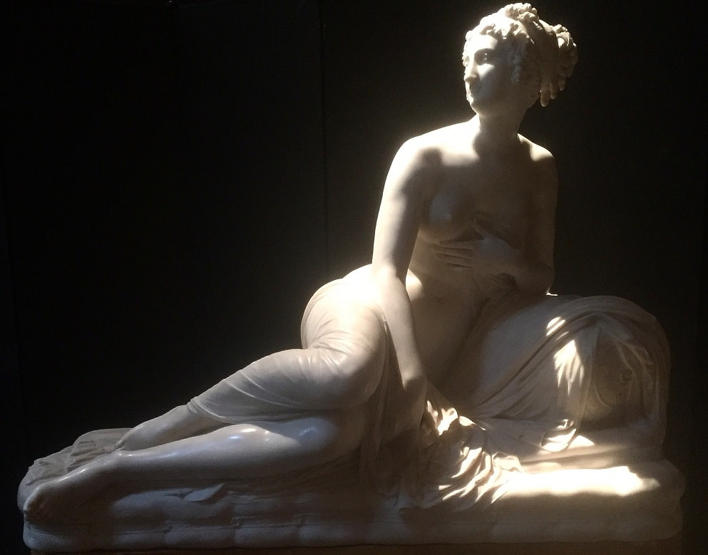 """One of the beautiful sculptures on the balcony in the entry hall. - """"Why You Should Visit the Fitzwilliam Museum in Cambridge"""" - Two Traveling Texans"""
