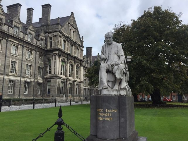 """The campus of Trinity College is beautiful and definitely worth exploring. - """" The Book of Kells - A Medieval Treasure"""" - Two Traveling Texans"""