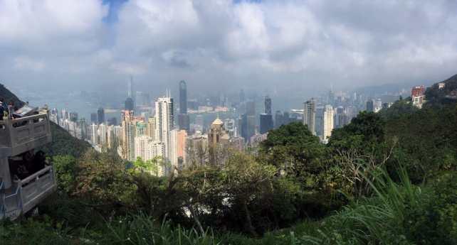 "Hong Kong has so many skyscrapers. - ""Don't Miss Victoria Peak When Visiting Hong Kong"" - Two Traveling Texans"
